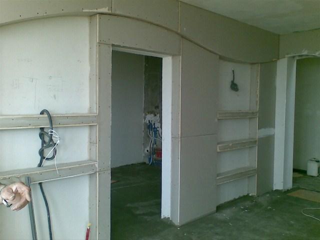 Изготовление стен из гипсокартона своими руками